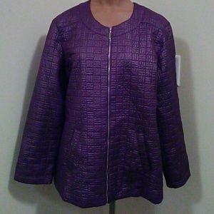 Ladies Purple Jacket